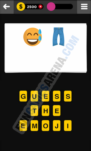 Guess The Emoji CLOTHING & ACCESSORIES - 3 Answer