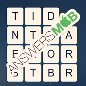 Answer for Word Cubes Ant Level 19