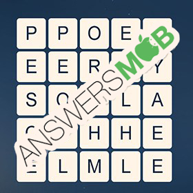 Answer for Word Cubes Oyster Level 13