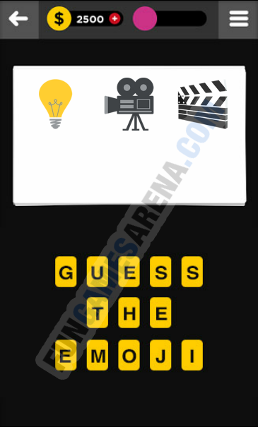 Guess The Emoji ENTERTAINMENT - 6 Answer