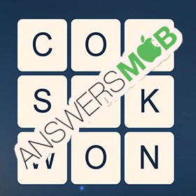 Answer for Word Cubes Neutron Level 10