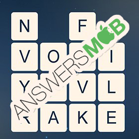 Answer for Word Cubes Virus Level 19