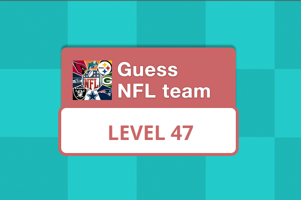 Guess NFL Team Level 47 Answer
