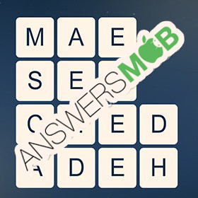 Answer for Word Cubes Cell Level 20