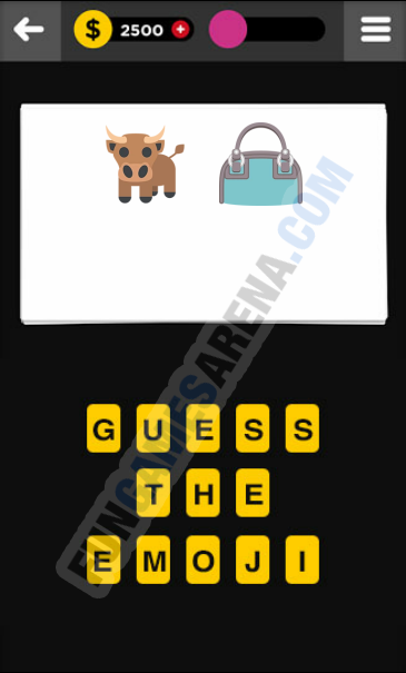 Guess The Emoji CLOTHING & ACCESSORIES - 15 Answer