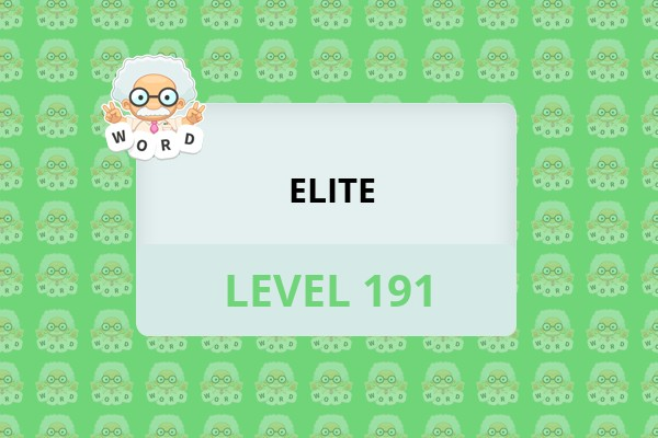 WordWhizzle Search Elite Level 191 Answer