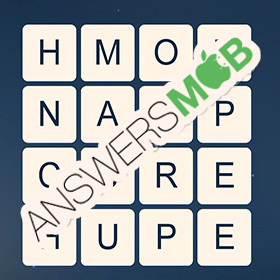 Answer for Word Cubes Dragonfly Level 15