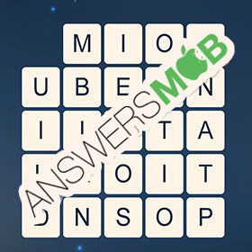 Answer for Word Cubes Oyster Level 19