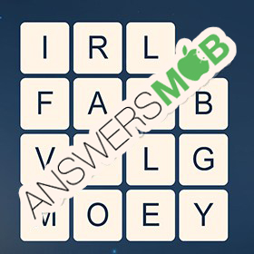 Answer for Word Cubes Ant Level 9