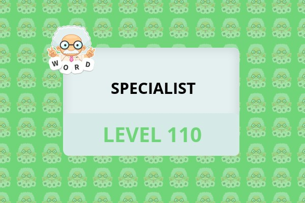 WordWhizzle Search Specialist Level 110 Answer