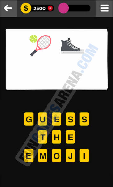 Guess The Emoji CLOTHING & ACCESSORIES - 2 Answer
