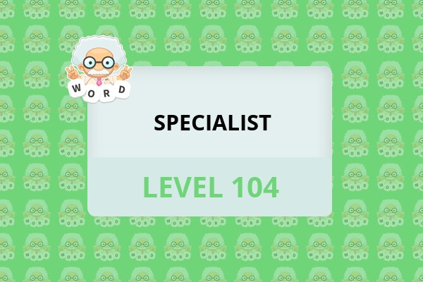 WordWhizzle Search Specialist Level 104 Answer