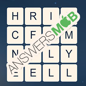 Answer for Word Cubes Dragonfly Level 2