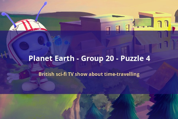 CodyCross - Planet Earth - British sci fi TV show about time