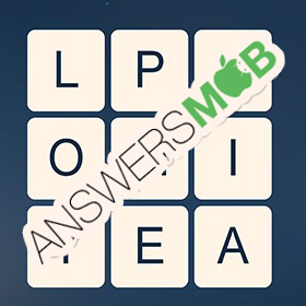 Answer for Word Cubes Atom Level 17