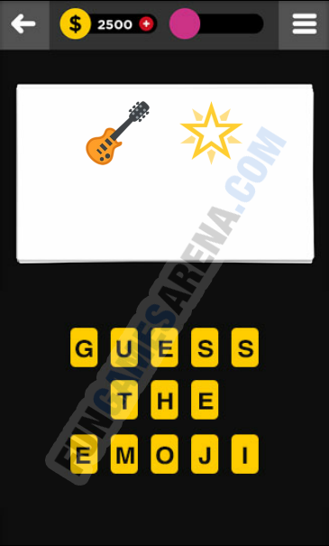 Guess The Emoji ENTERTAINMENT - 9 Answer