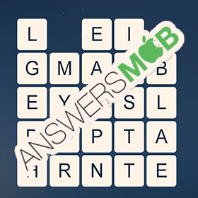 Answer for Word Cubes Sparrow Level 13