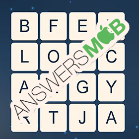 Answer for Word Cubes Dragonfly Level 1
