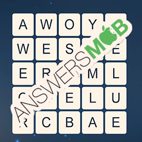 Answer for Word Cubes Oyster Level 17
