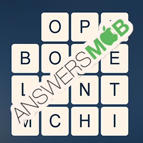 Answer for Word Cubes Ant Level 13