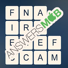 Answer for Word Cubes Cell Level 2