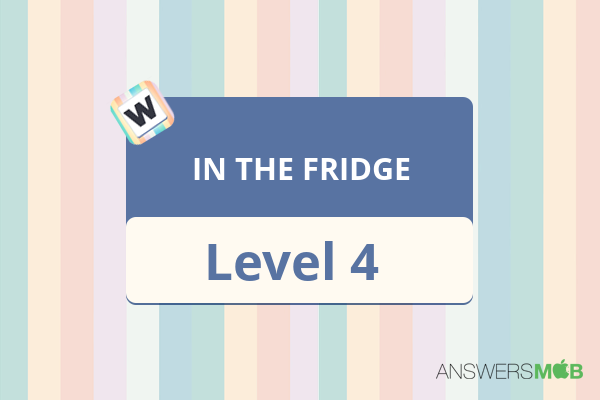 Word Journey IN THE FRIDGE Level 4