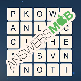 Answer for Word Cubes Sparrow Level 2