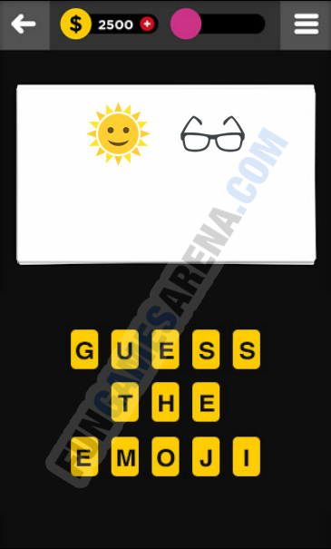 Guess The Emoji CLOTHING & ACCESSORIES - 1 Answer