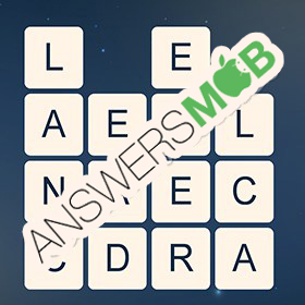 Answer for Word Cubes Cell Level 13