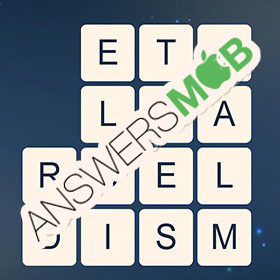 Answer for Word Cubes Bacteria Level 17
