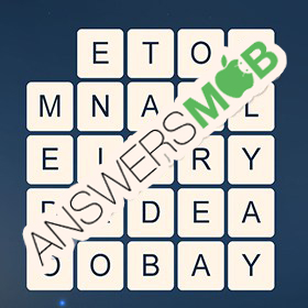 Answer for Word Cubes Sparrow Level 1