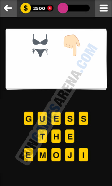 Guess The Emoji CLOTHING & ACCESSORIES - 7 Answer