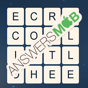 Answer for Word Cubes Dragonfly Level 17
