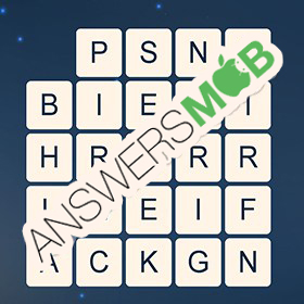 Answer for Word Cubes Oyster Level 6