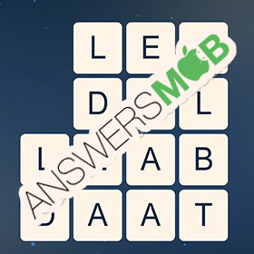 Answer for Word Cubes Cell Level 12