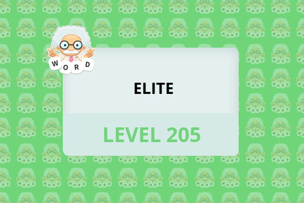 WordWhizzle Search Elite Level 205 Answer