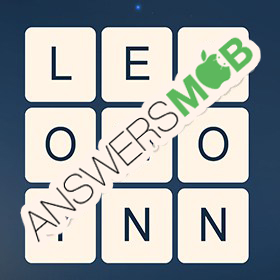 Answer for Word Cubes Atom Level 4