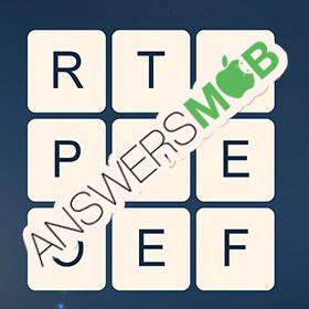 Answer for Word Cubes Atom Level 1