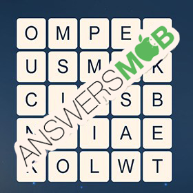 Answer for Word Cubes Sparrow Level 4