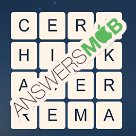 Answer for Word Cubes Dragonfly Level 14