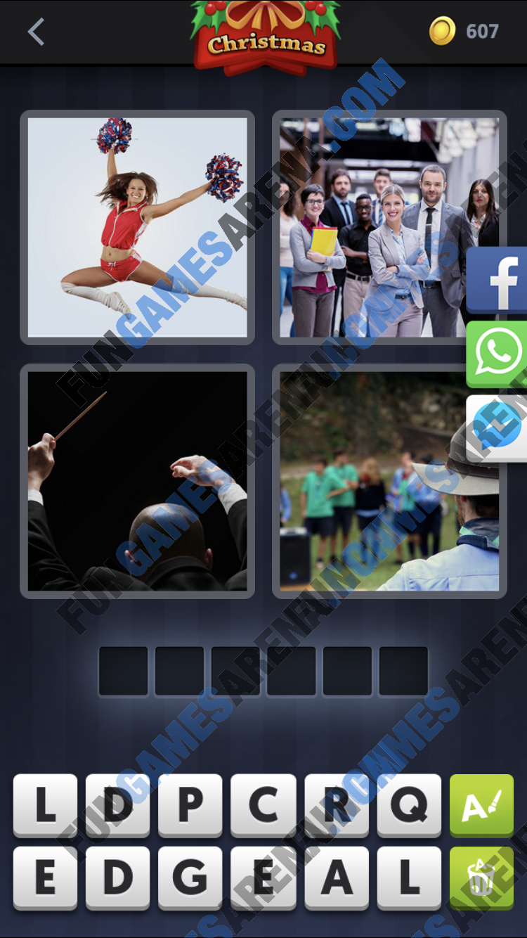 4 Pics 1 Word December 07 2017 Answer
