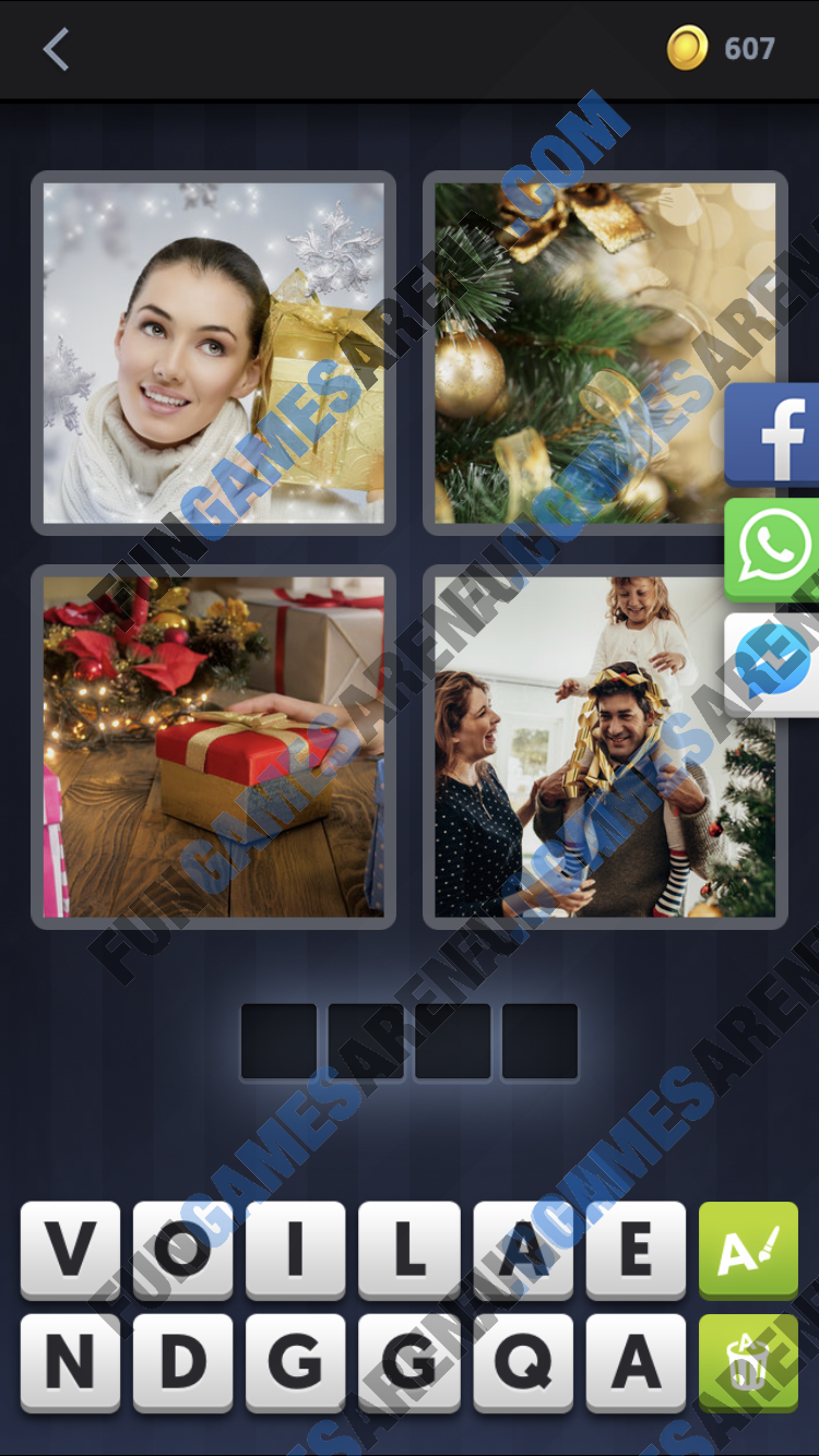 4 Pics 1 Word December 11 2017 Answer