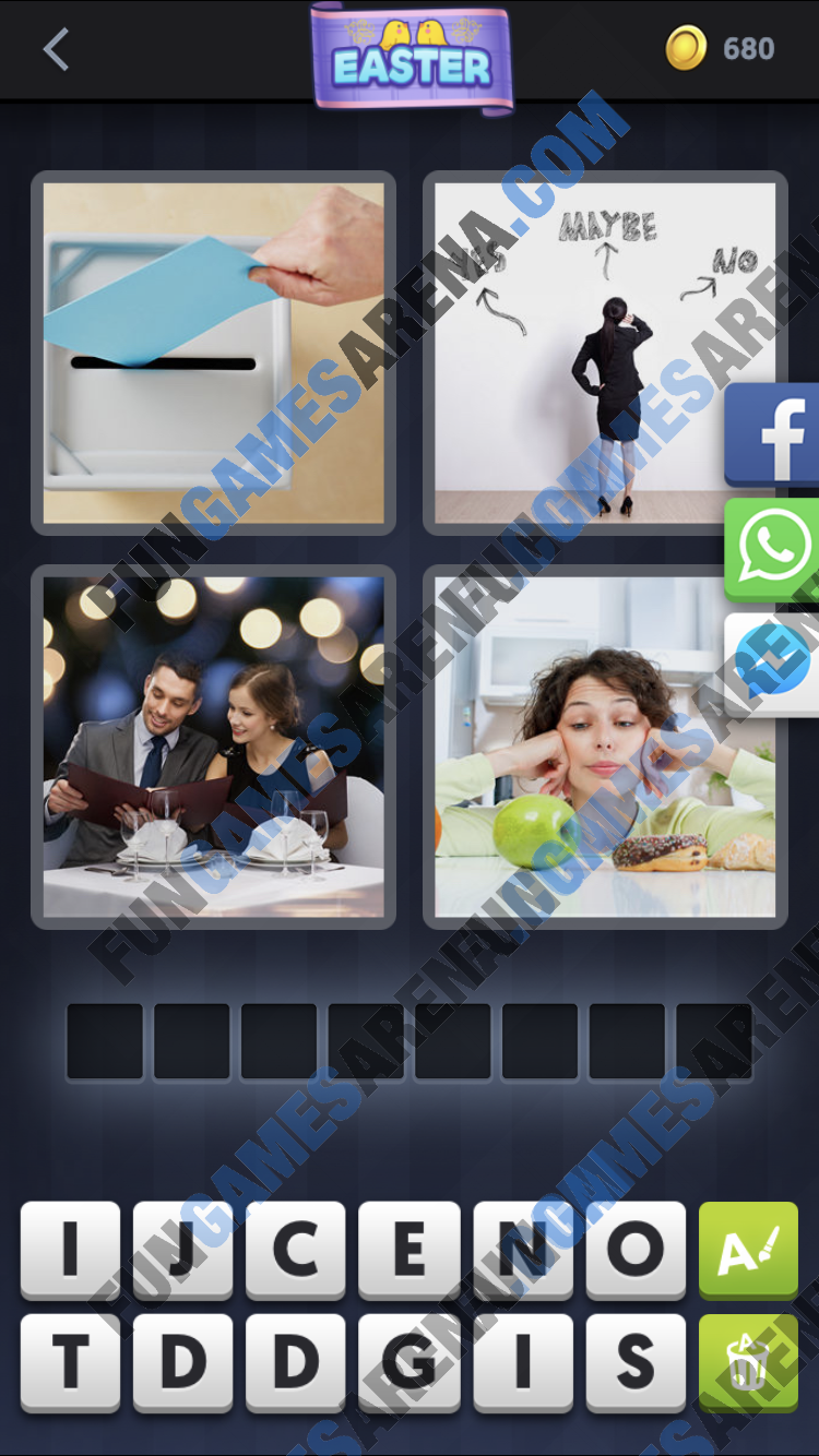 4 Pics 1 Word March 22, 2018 Answer