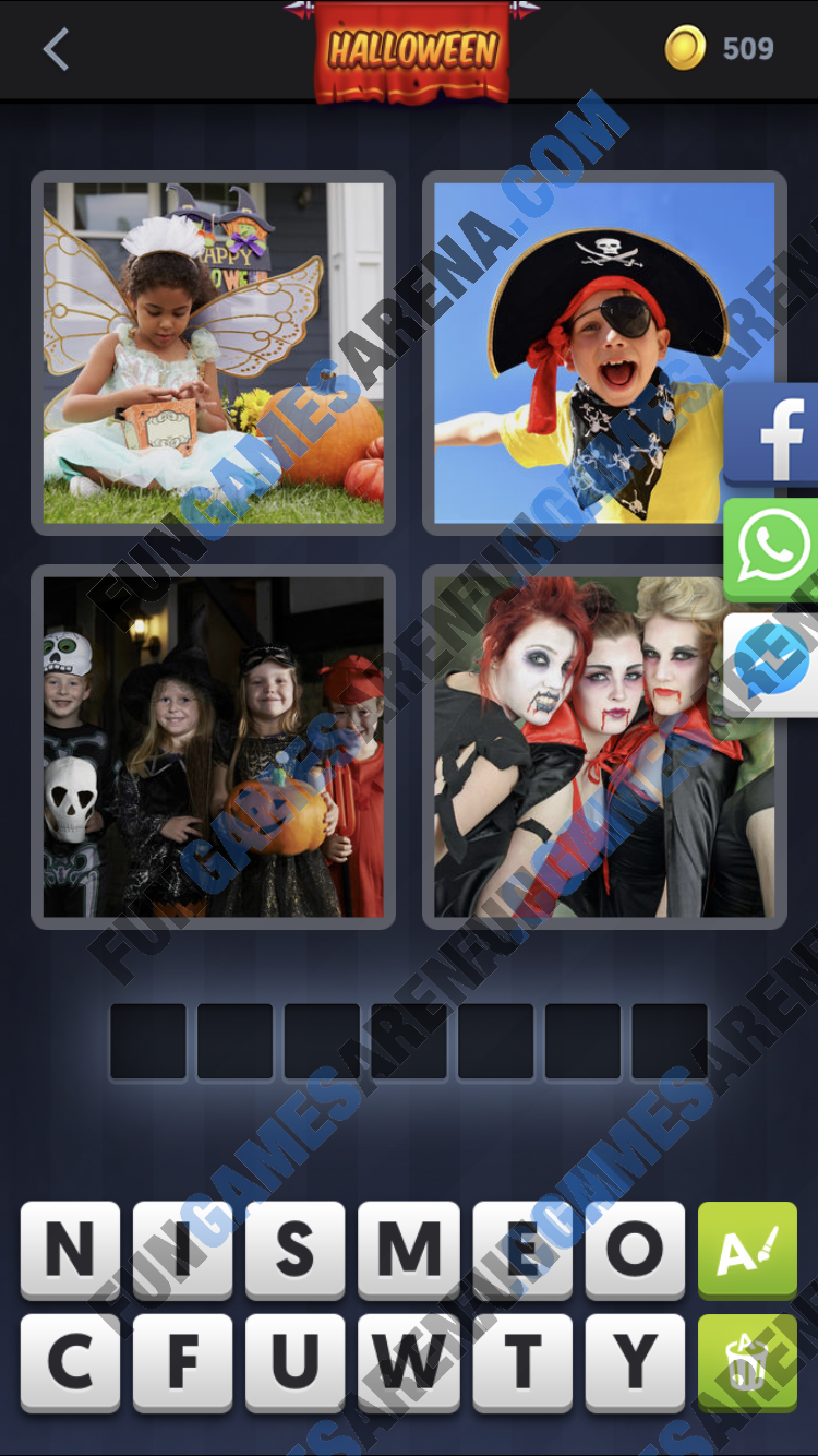 4 Pics 1 Word October 09 2017 Answer