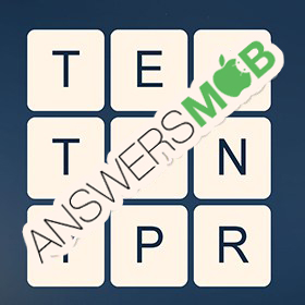 Answer for Word Cubes Atom Level 11