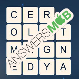 Answer for Word Cubes Ant Level 16