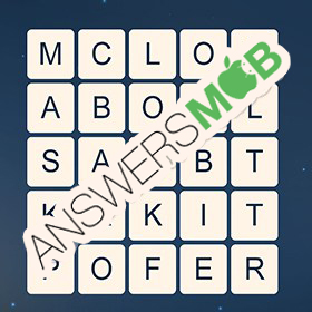 Answer for Word Cubes Oyster Level 7