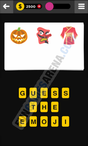 Guess The Emoji CLOTHING & ACCESSORIES - 13 Answer