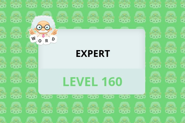 WordWhizzle Search Expert Level 160 Answer