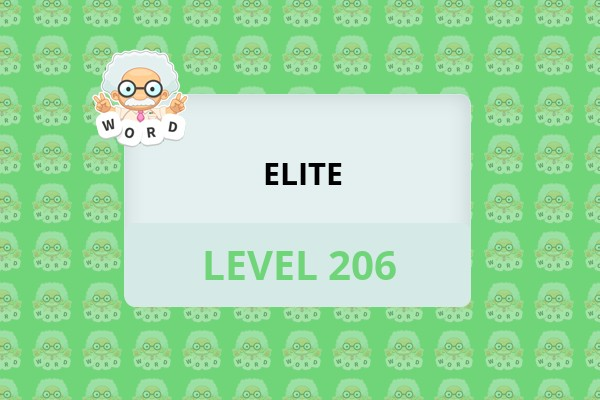 WordWhizzle Search Elite Level 206 Answer